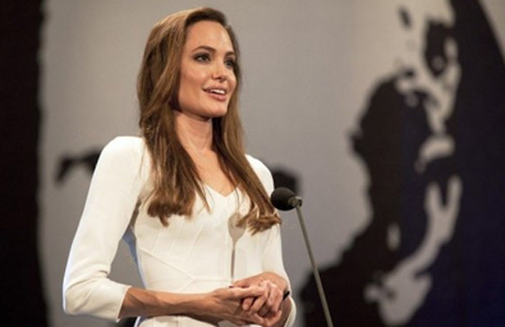 Angelina Jolie is set to play a British woman who helped map out the modern Middle East including Iraq in the early 20th century. (AFP)