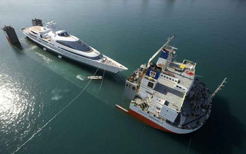 6th Largest Yacht Launched In Abu Dhabi Emirates24 7