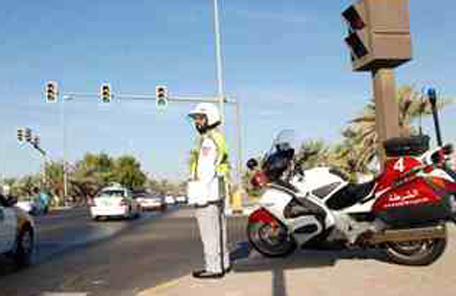 Two cars were caught racing at more than 240 km per hour on abu dhabi