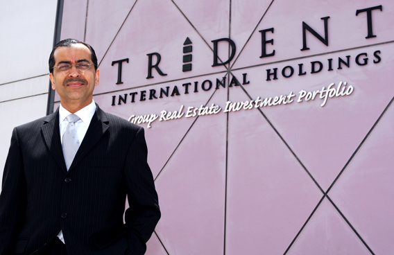 Trident International Holdings Executive Director and CEO Wazir Daredia. (PATRICK CASTILLO)