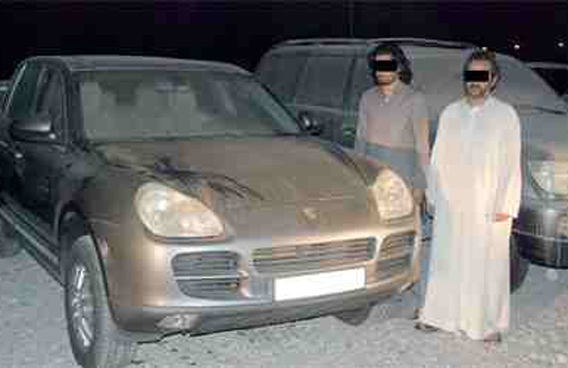 Deported duo sneak back steal car for sale  Emirates 247