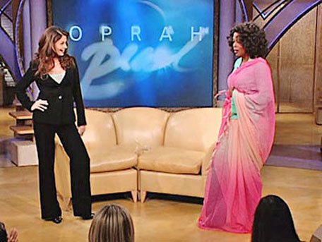 Aishwarya Rai in Oprah Winfrey show in April 2005. (FILE)