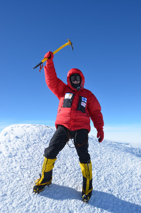 Summit of Vinson Massif (SUPPLIED)