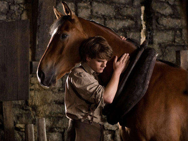"Actor Jeremy Irvine is shown in a scene from the Touchstone film ""War Horse"" in this publicity photo released to Reuters January 24, 2012. The film was nominated for best picture for the 84th Academy Awards on Tuesday. The Oscar winners will be revealed in Hollywood on February 26.  (REUTERS)"