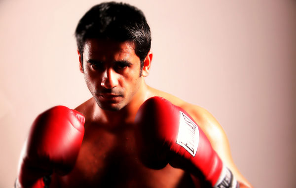 Eisa alDah, the 32-year-old Emirati boxer. (SUPPLIED)