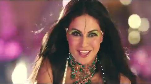 Veena Malik in the item number Chhanno from the movie 'Gali Gali Chor Hai'. (Picture captured from YouTube)