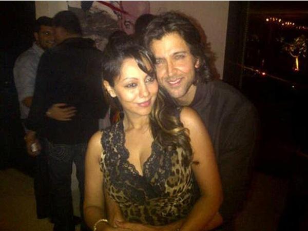 Hrithik Roshan and Shah Rukh Khan's wife Gauri Khan. (Pic: Twitter)