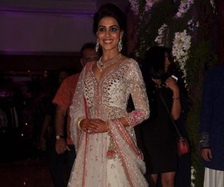 Genelia D'Souza posing for a photograph. (SUPPLIED)