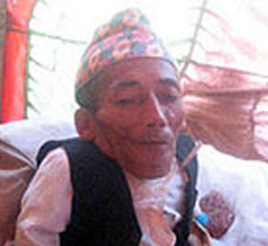 Chandra Bahadur Dangi (Courtesy mirjrai.com)