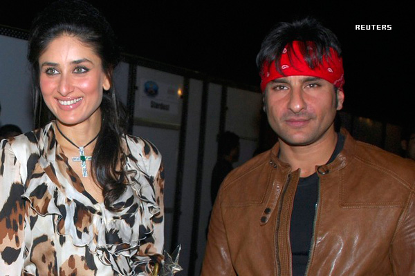 (FILE) Bollywood actor Siaf Ali Khan and Kareena Kapoor. (REUTERS)