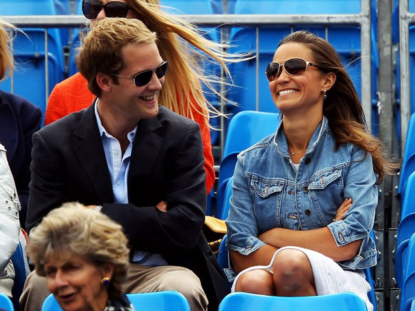 Pippa Middleton and George Percy have been close friends since Edinburgh University. (GETTY)