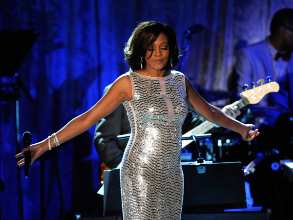 Whitney Houston performs at the Pre-Grammy Gala & Salute to Industry Icons in this file photo taken in Beverly Hills, February 12, 2011. Houston has died, according to her publicist on February 11, 2012. She was 48. (REUTERS)