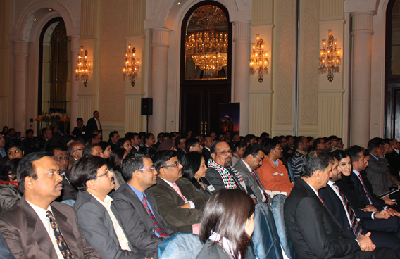 An Impressive Turn out Delhi's tourism trade during the Abu Dhabi presentation. (SUPPLIED)