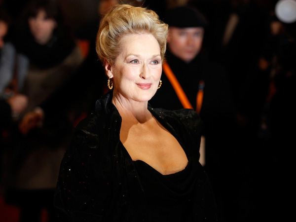 Actress Meryl Streep at the British Academy of Film and Arts (BAFTA) awards ceremony at the Royal Opera House in London February 12, 2012.   (REUTERS)