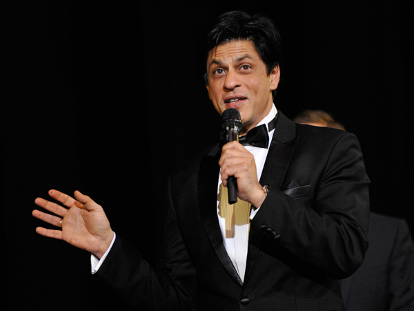 "Cast member Shah Rukh Khan at the 62nd Berlinale International Film Festival in Berlin February 11, 2012 for the screening of the movie ""Don - The King is back"".  (REUTERS)"