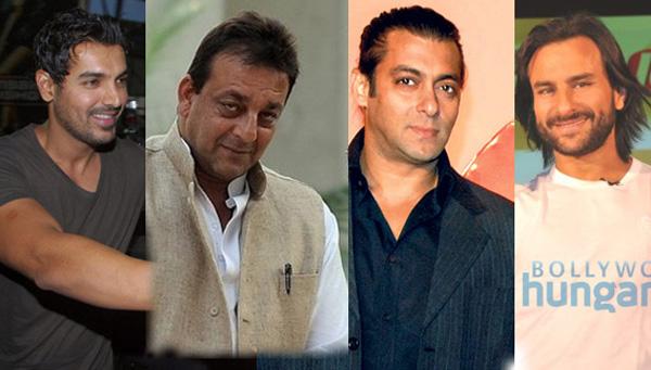Bollywoods Bad Boys Salman Sanjay Saif And John In Trouble