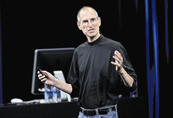 The tech visionary Steve Jobs died on October 5, at 56, of pancreatic cancer. (GETTY IMAGES)