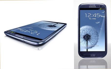 Samsung Galaxy S3. (SUPPLIED)