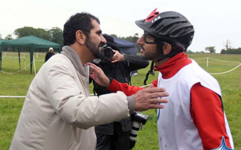 Mohammed congratulates Hamdan on UK race win - Emirates24 7