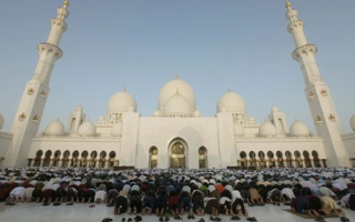 Photo: Sheikh Zayed Grand Mosque: 347,895 worshippers in 10 days of Ramadan