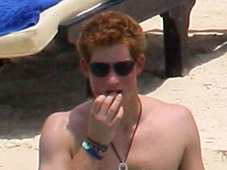 You have Prince harry naked vegas uncensored
