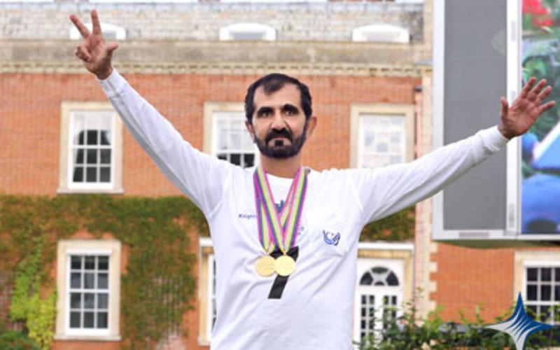 Mohammed crowned 2012 FEI World Endurance Championship winner (Picrure Courtesy: Sheikh Mohammed's website)