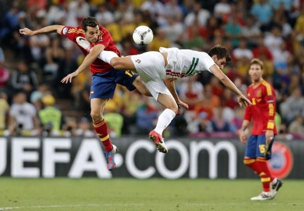 Spain Portugal Soccer