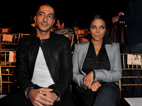 Janet Jackson and her fiancé Wissam al Mana. (GETTY/AFP)