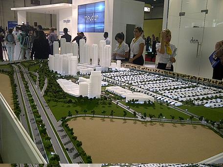 India's Sobha Group unveiled the master plan and model of its multi-billion-dollar Sobha City. (SUPPLIED)
