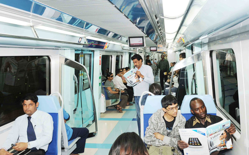 Dubai Metro (SUPPLIED)