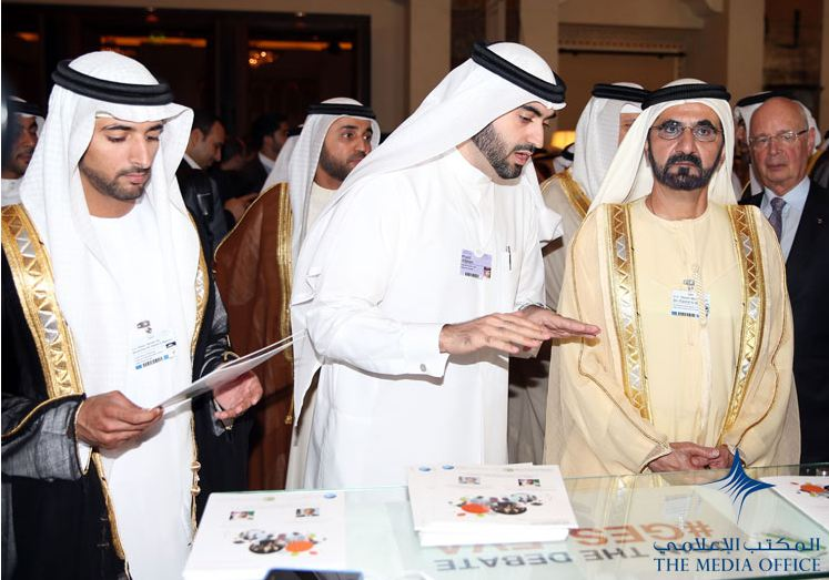 Sheikh Mohammed attends Fifth Summit on Global Agenda. (SUPPLIED)