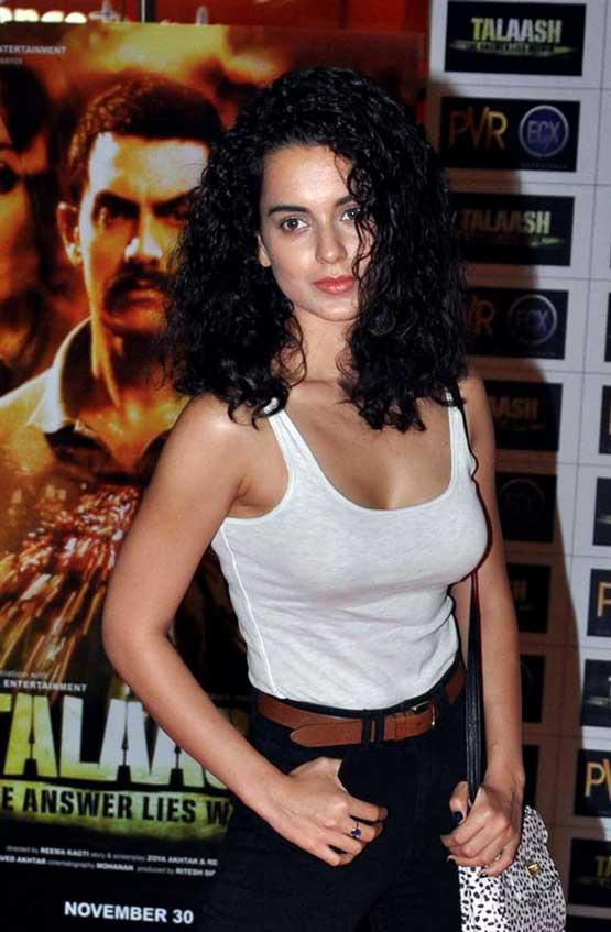 Bollywood actress Kangna Ranaut (AFP)