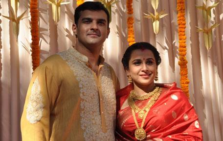 Just Married Vidya Balan With Her Brand New Husband Siddharth Roy Kapoor Sanskriti Media Entertainment