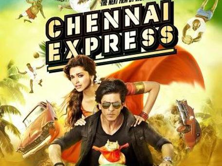 Bollywood actor Shah Rukh Khan and Deepika Padukone in 'Chennai Express'. (Twitter)
