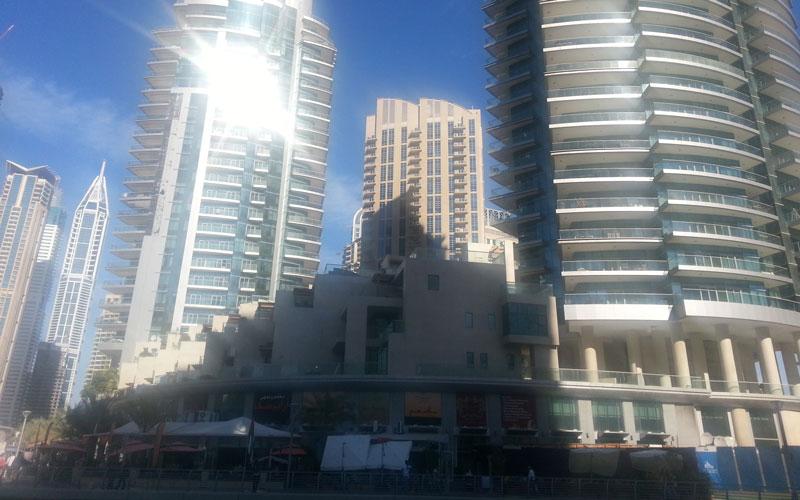 Dubai Marina Walk (SUPPLIED)