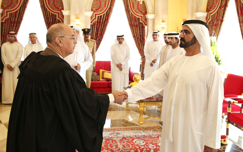 Judges, prosecutors sworn in before Mohammed (Wam)