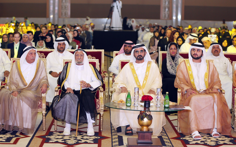 Mohammed attends graduation ceremonies (Wam)