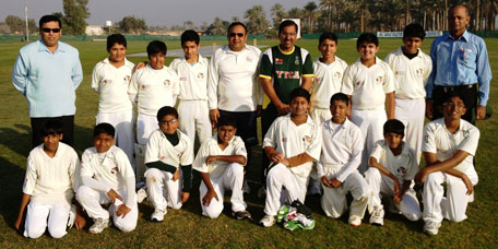 Young Talent Cricket Academy team. (SUPPLIED)