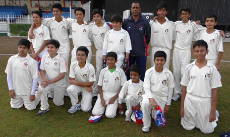 G Force Cricket Academy team. (SUPPLIED)
