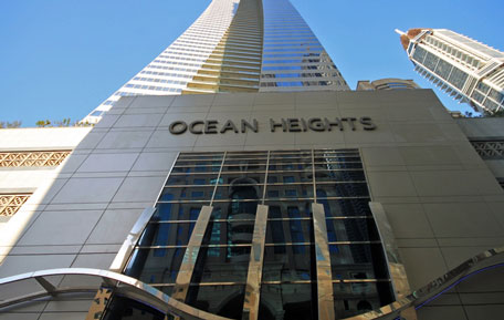 An apartment in Ocean Heights, Dubai Marina, sold for Dh25.55 million. (Imre Solt)
