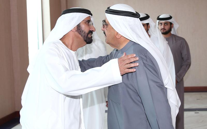 Mohammed bin Rashid leaving for Riyadh