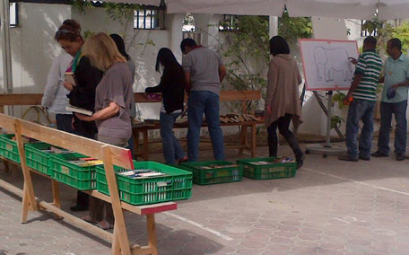 A book sale by K9 Friends to raise funds. (Supplied)