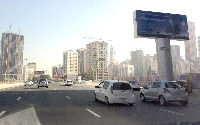 Police patrols are deployed round-the-clock to ease traffic flow. (File)