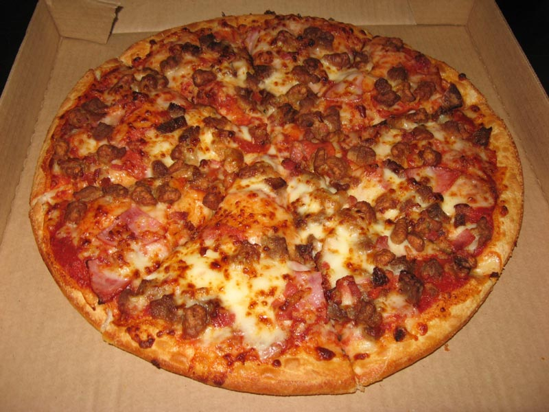 Пиццыы в домашних условиях с крабовыми палочками