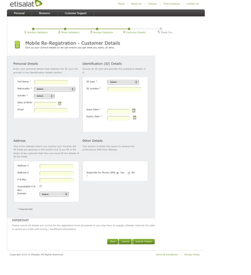 Mobile re-registration forms online, but personal visit still ...