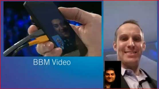 'First Ever' Video Call made by a BB Z10