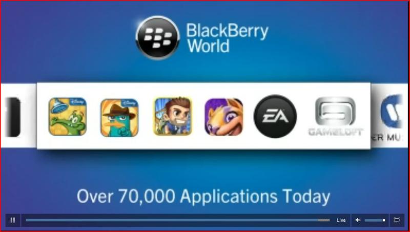 BB 10 apps