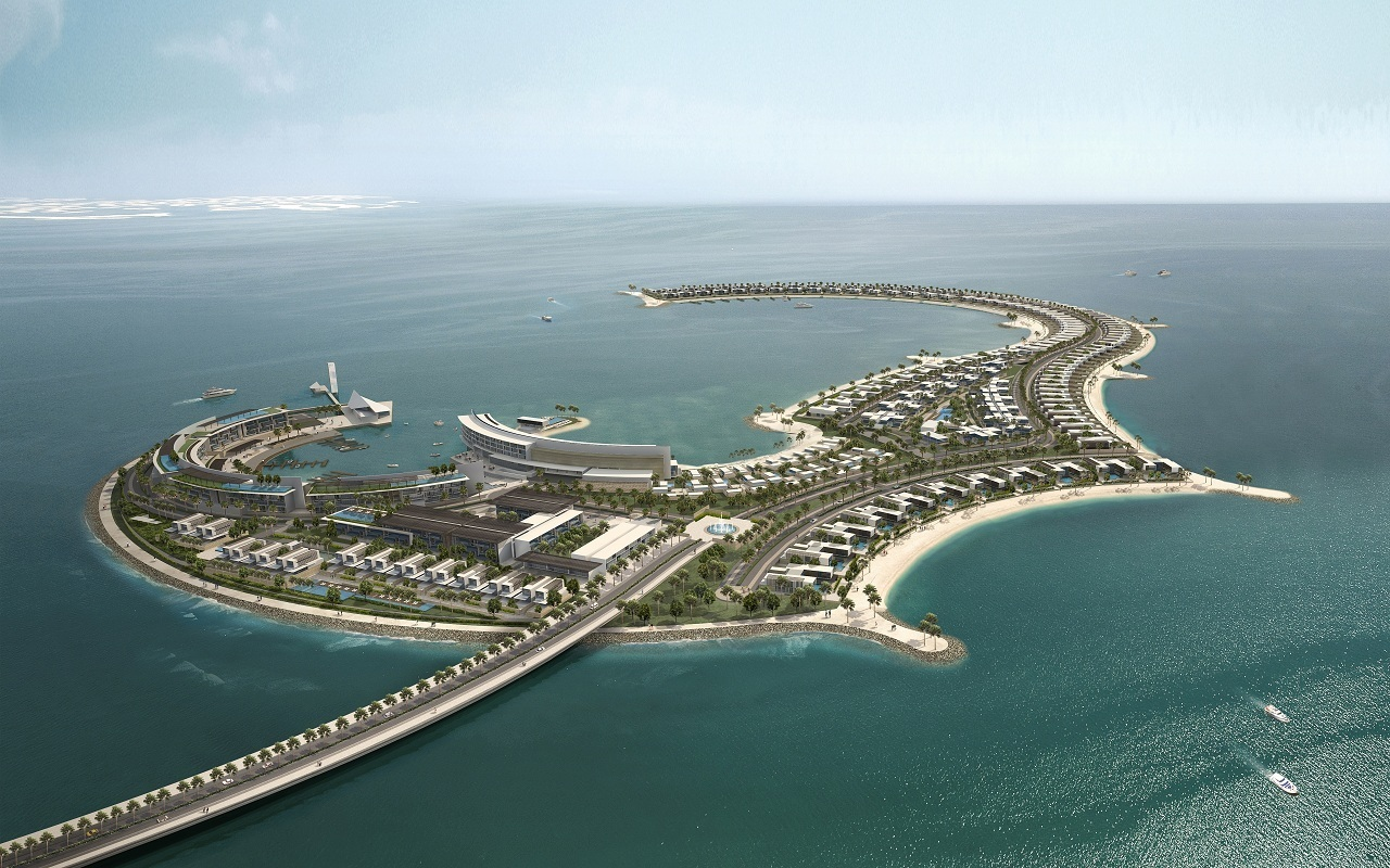 development of a five star hotel island construction essay Palm island construction  ­although five workers were swept away­ by a wave and one drowned,  although the development company,.