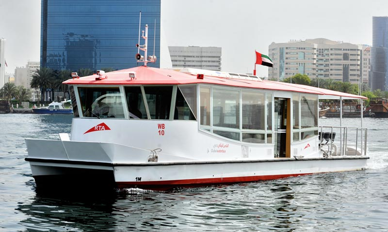 RTA recently launched a new water bus line to shuttle between the Festival City Station and Ras Al Khor Wildlife Sanctuary,