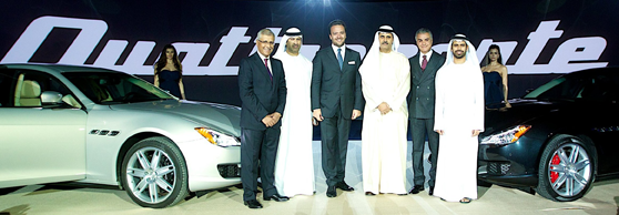 Al Tayer Motors - Maserati Quattroporte launch (Supplied)
